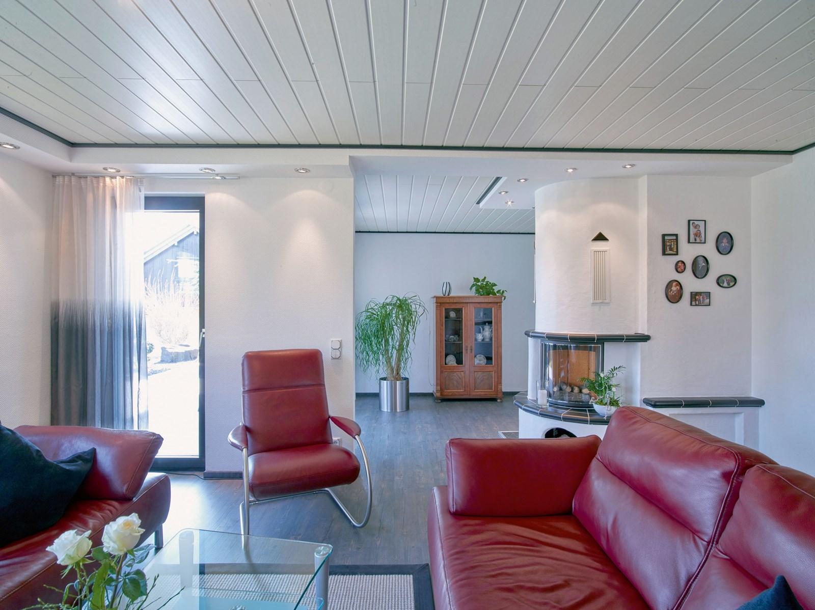 sch ner wohnen mit spanndecken portas schweiz renovierung. Black Bedroom Furniture Sets. Home Design Ideas